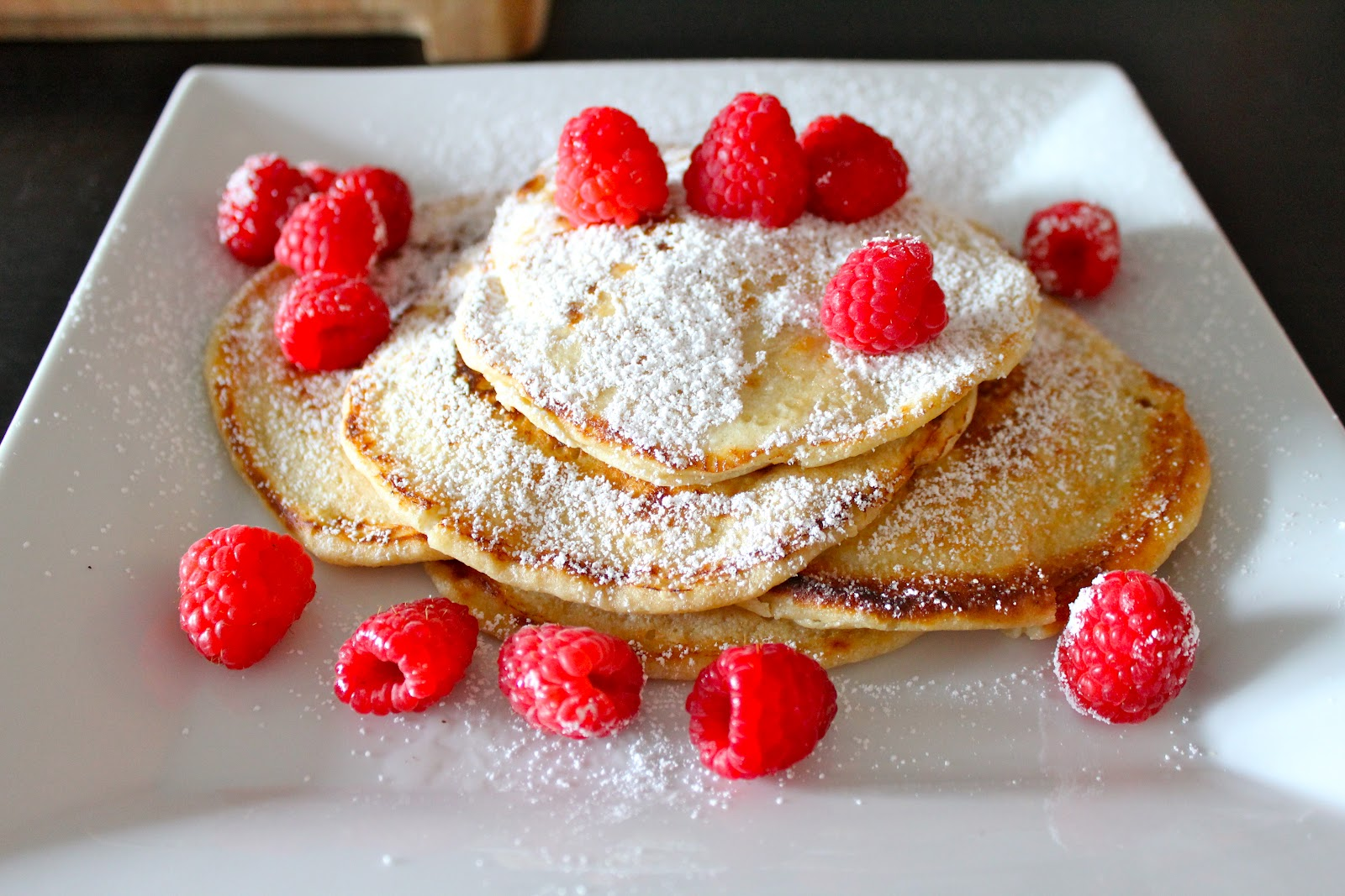 Lemon Ricotta Pancakes - Guest Post from Hima at My Musings