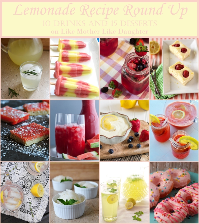 lemonade recipe round up