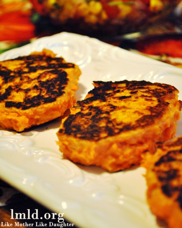 sweet potato patties 2
